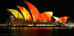 Light Art Sydney Opera Eno